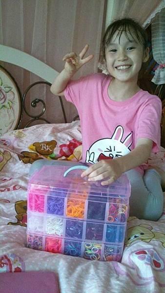 粉嫩三層手提珍藏盒