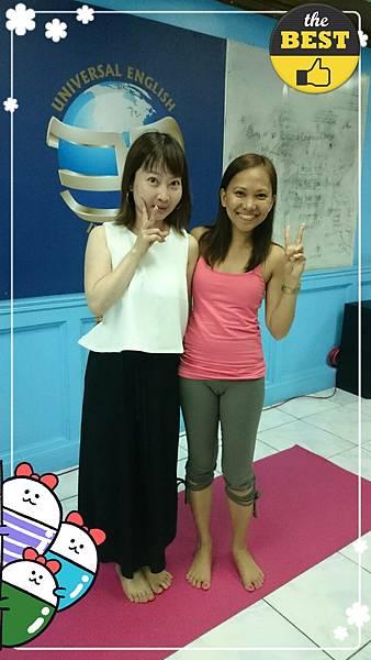 01菲律賓學英文很喜歡瑜珈老師說英文Vito.jpg