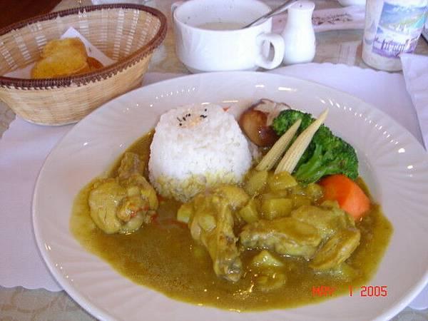 高級午餐-咖哩雞