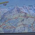 我們做的路線圖,Gringwaldg上Lauterbrunnen下