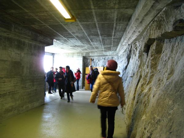 我們在其中的隧道點停5分鐘