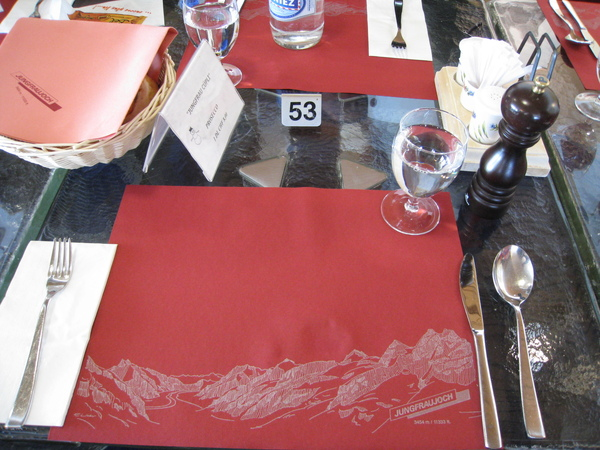 這是我第一次在那麼高的山上用餐,很妙的體驗