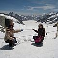 阿雷奇冰河長23公里、深900公尺