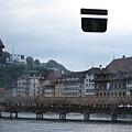 這是卡貝爾橋,建於14世紀的古老木橋