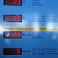 今天的氣溫表