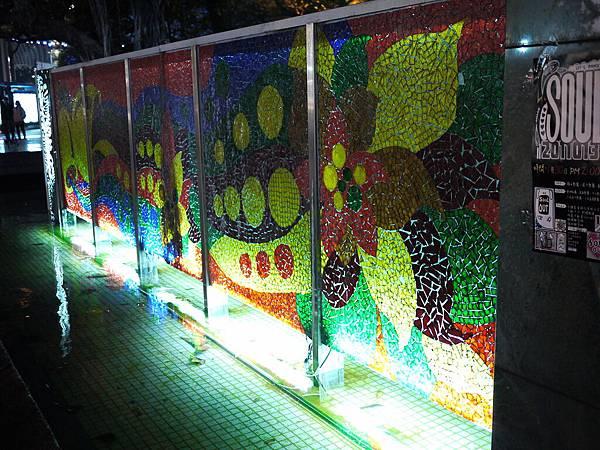 城市光廊藝術圖