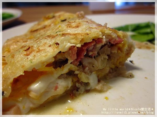 鯛魚培根蛋餅4