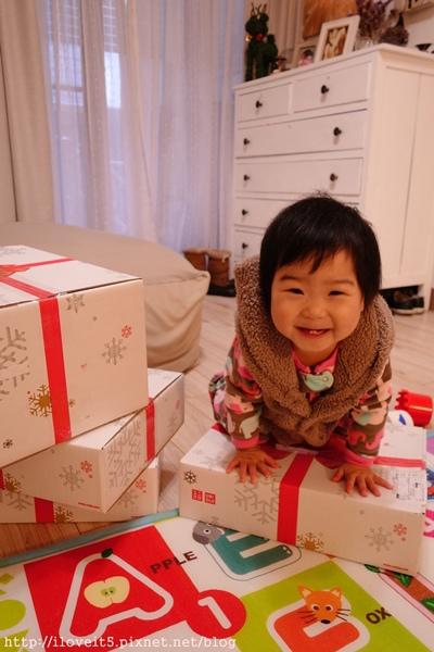 nicole-湯圓玩uniqule盒子-2