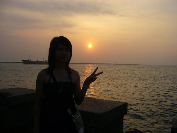 中山大學的日落
