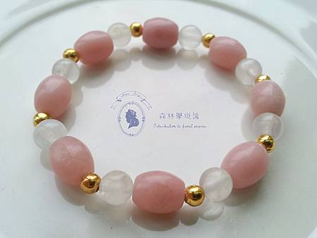 粉紅澳寶x月光石