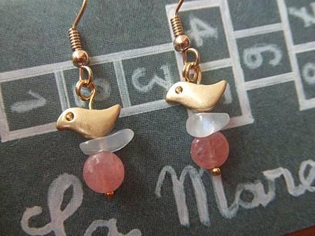 小鳥兒耳環