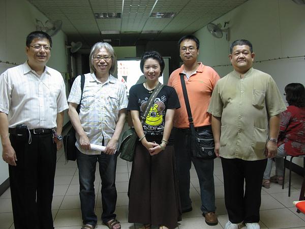 委員會與李坤城大師