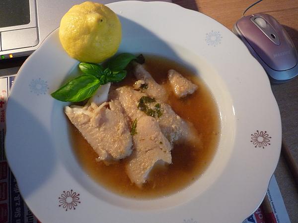 味噌檸檬魚