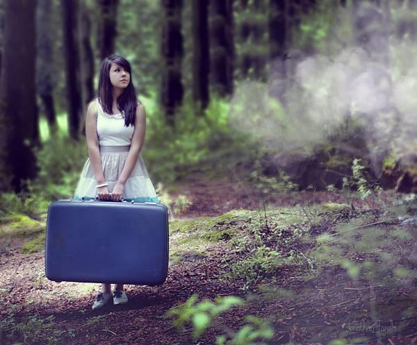 失戀 行李箱