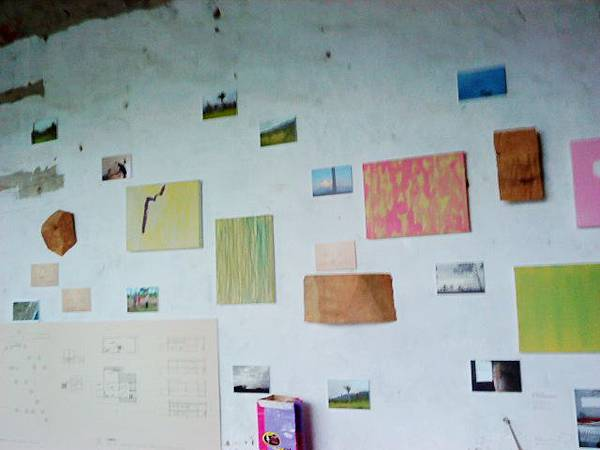 旺旺暫居的藝術家工作室。