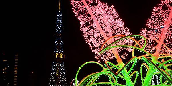札幌白色燈樹節1