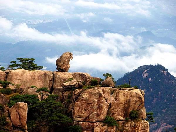 黃山五絕之一 - 怪石 @愛旅遊