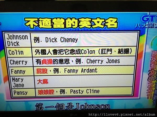 English name
