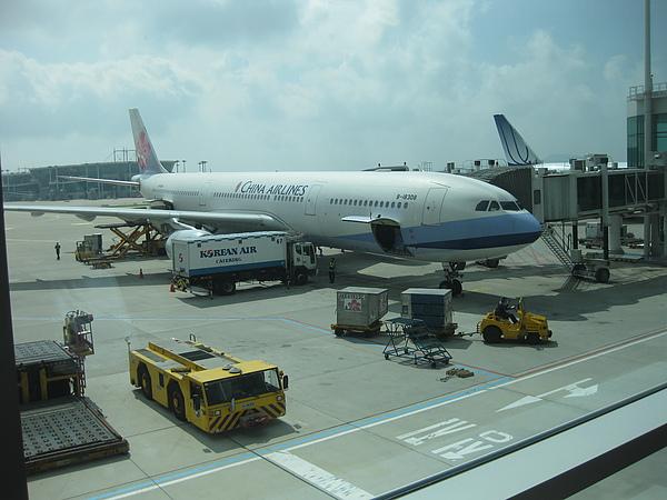 仁川機場到達!