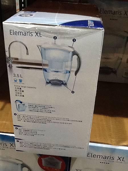 83599 Brita Elemaris XL  3.5L 兩個新款濾心 1399 20121117 02