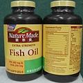 NATURE MADE 萊萃美 高單位魚油軟膠囊一瓶 240粒-1