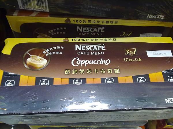 95228 雀巢咖啡三合一醇綿奶泡卡布奇諾 18克x10包x6盒 價格未知 20130226 01