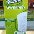 596641 SWIFFER DRY CLOTH 乾除塵紙 80張 26.5x20.3公分  加拿大製造 549 012
