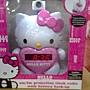 820646 Hello Kitty KT2064 收音機&投影鬧鐘 0.6吋紅色led時間顯示器 849 02
