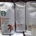 704833 Starbuck  Yukon Blend 星巴克有機咖啡豆 453克x2 749.02