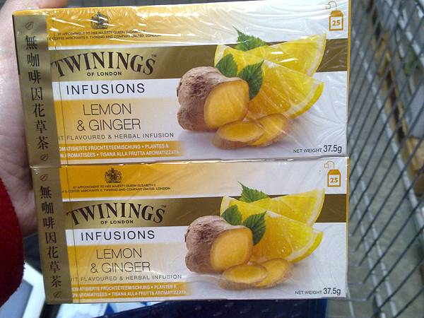 97659 Twinings 唐寧 檸檬薑茶 50克x2 波蘭 249 02