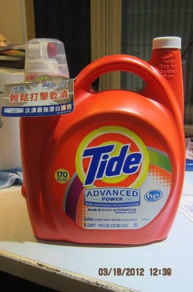 531440 Tide 太漬 超濃縮衣物柔軟配方洗衣精 5.02公升(170OZ) 81蓋次