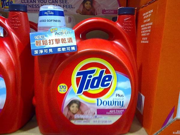 531447 Tide Downy 超濃縮衣物糅軟配方洗衣精 5.02公升81蓋次 649 02