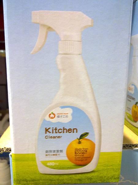 87900 橘子工坊廚房清潔組 480mlx3 279 04