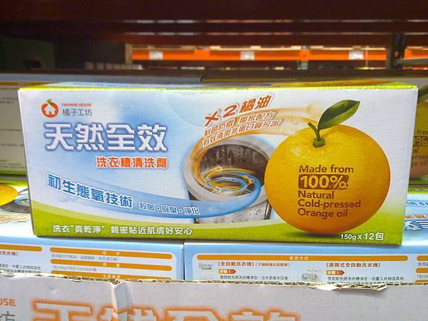 96156 橘子工坊洗衣槽清潔劑  150公克x12包  399 02