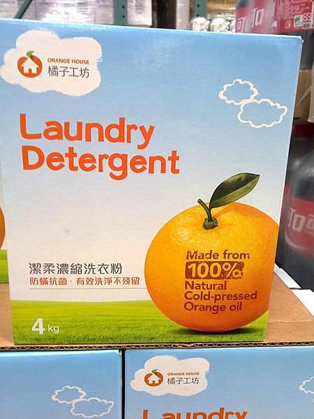 84872 橘子工坊潔柔濃縮洗衣粉 4公斤 549 01