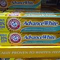 94347 arm & Hammer 小蘇打粉配方牙膏 204公克x3 清新薄荷和或 潔白配方 329 20121124 06