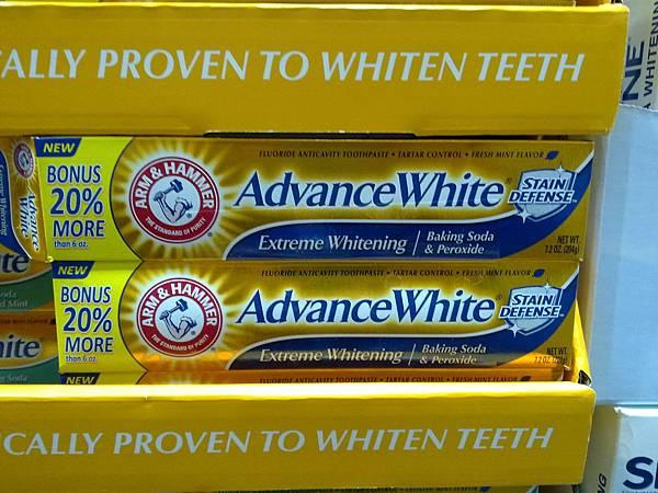 94347 arm & Hammer 小蘇打粉配方牙膏 204公克x3 清新薄荷和或 潔白配方 329 20121124 07