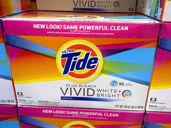575161 TIDE 汰漬超濃縮洗衣漂白配方洗衣粉 4.86公斤956匙次 799 02