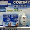 74349 COMBAT 威滅 液體電蚊香組 加溫器+45ML補充液x2 319 20120807 02