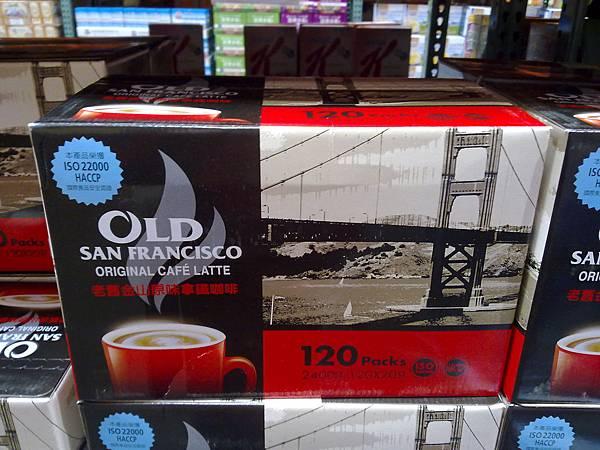 93167 Old Sanfrancisco 老舊金山原味拿鐵咖啡 20克x120包 599 02