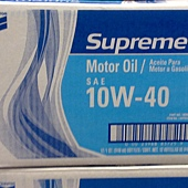 52922 Chevron Supreme Motor Oil Chevron 10W40 API SM Oil 汽車引擎潤滑機油 946毫升x12  02