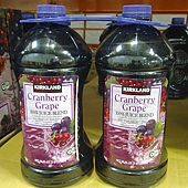 848583 Kirkland Signature 蔓越莓葡萄綜合果汁飲料 2.84公升x2 原汁含有率94% 365 02