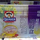 96551 桂格超級穀麥繽紛盒(健康莓、健康麥) 每盒約1.1公斤(30公克x36包) $275 02