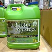 7827 Litter Purrfect 進口檸檬草香 貓砂 35磅 15.8公斤 299 03