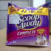506958 Scoop Away 超凝結貓砂 42磅 19 公斤 549 03