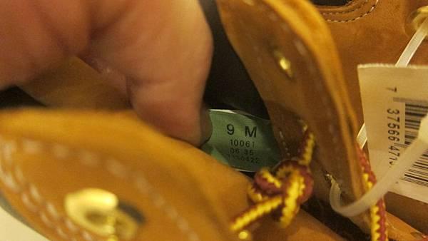 471371 Timberland 男 黃靴 10061 6 3889 06