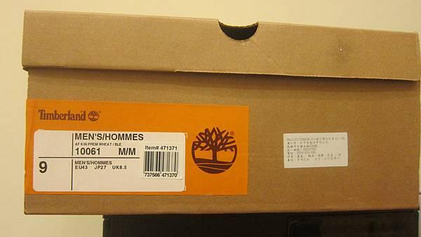471371 Timberland 男 黃靴 10061 6 3889 20120329