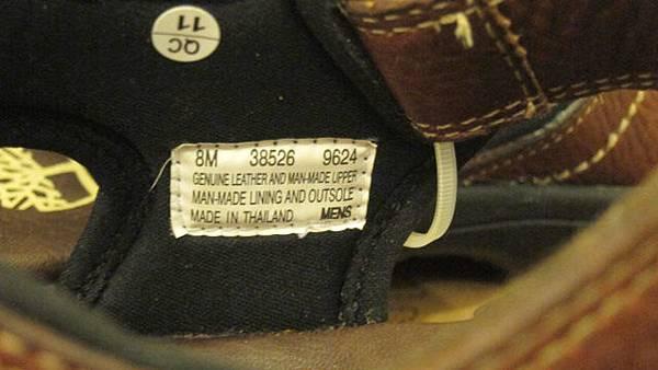 700386 timberland 38526 男真皮涼鞋 05 1799