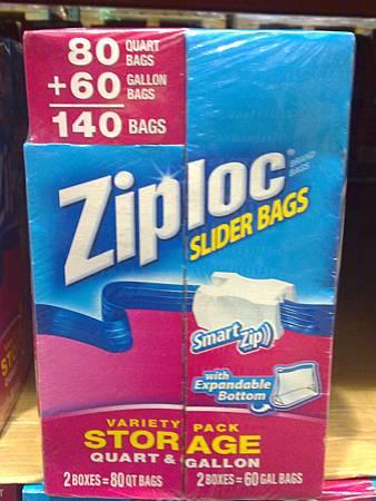 443562 ZIPLOC 密保諾 拉鍊式保鮮夾鏈袋 80小袋+60大袋(140) 399 20130628 06.jpg
