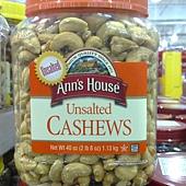 703748 Anns Unsalted Cashew 無調味腰果 1.13公斤 美國產 599 02.jpg